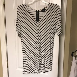 Mossimo striped shirt sleeve T